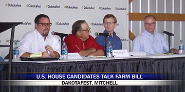 U.S. House Candidates Talk Farm Bill at Dakotafest